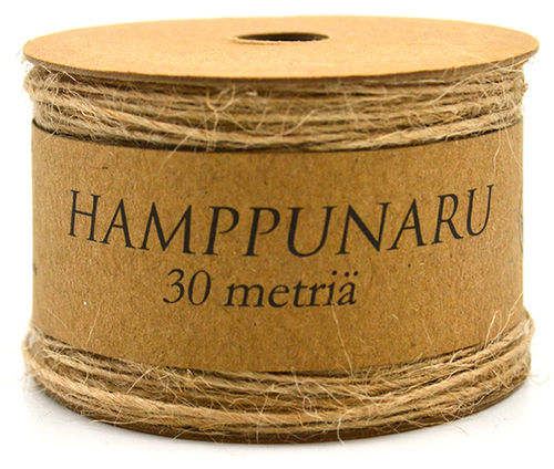 Hamppunaru 1mm x 30m